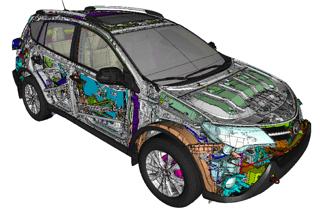 3D model on webpage
